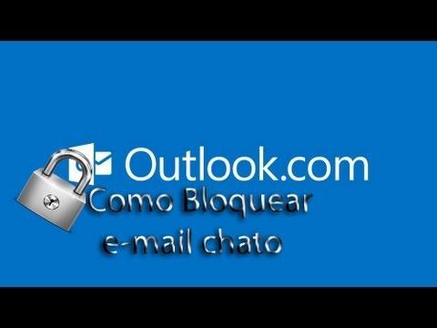 Como bloquear email no outlook