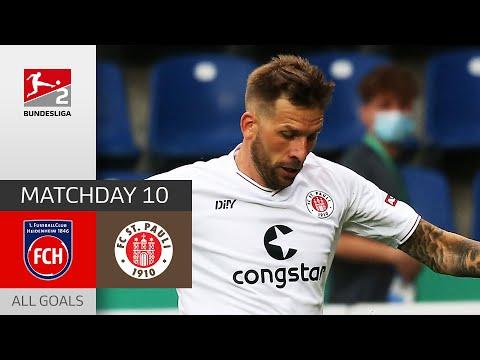 Heidenheim 1.FC St. Pauli Goals And Highlights