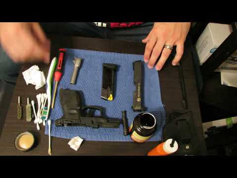Taurus PT111 Millennium G2 Field strip, cleaning, and review