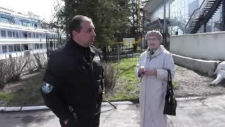 Запрет видео съемки у здания речного вокзала, г  Кинешма
