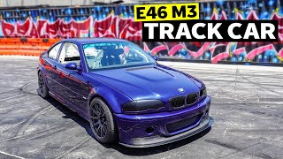 homepage tile video photo for The BMW E46 M3 Track Car of our Dreams – Simple, Clean, and Mean // Build Breakdown