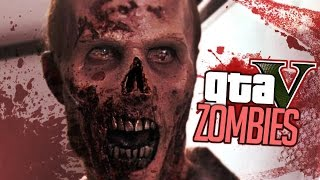 GTA 5 ZOMBIE MOD - ZOMBIE MILITARY BASE (GTA 5 Zombies Gameplay)
