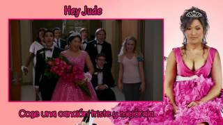 Glee - Hey Jude [Sub Esp + Vídeo]