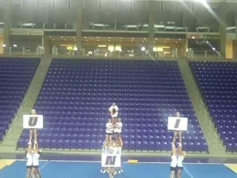 University of Northern Iowa Cheerleading Skills Tape 2010-2011
