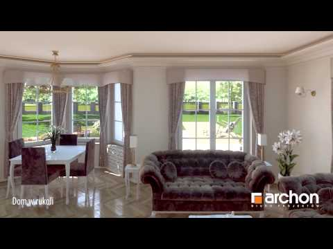 Дом в рукколе - Увлекательнaя прогулкa - проект ARCHON+
