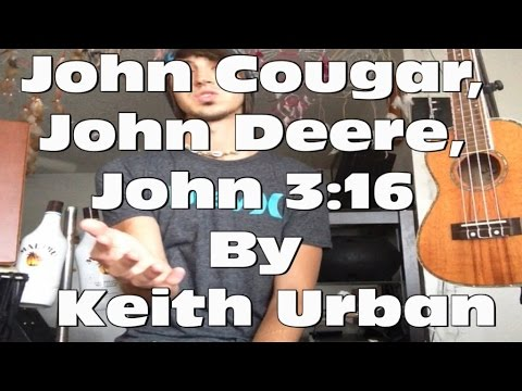 Guitar Tutorial for John Cougar, John Deere, John 3:16 by Keith Urban! (Super Easy!)