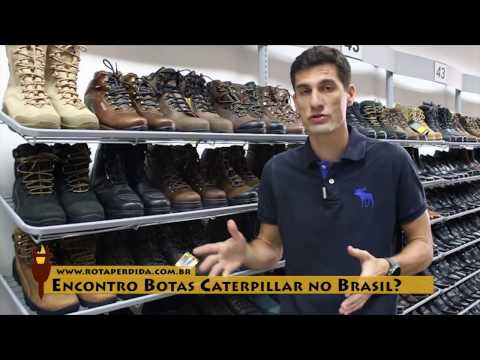 Encontro Botas Caterpillar no Brasil? - Rota Extrema Responde