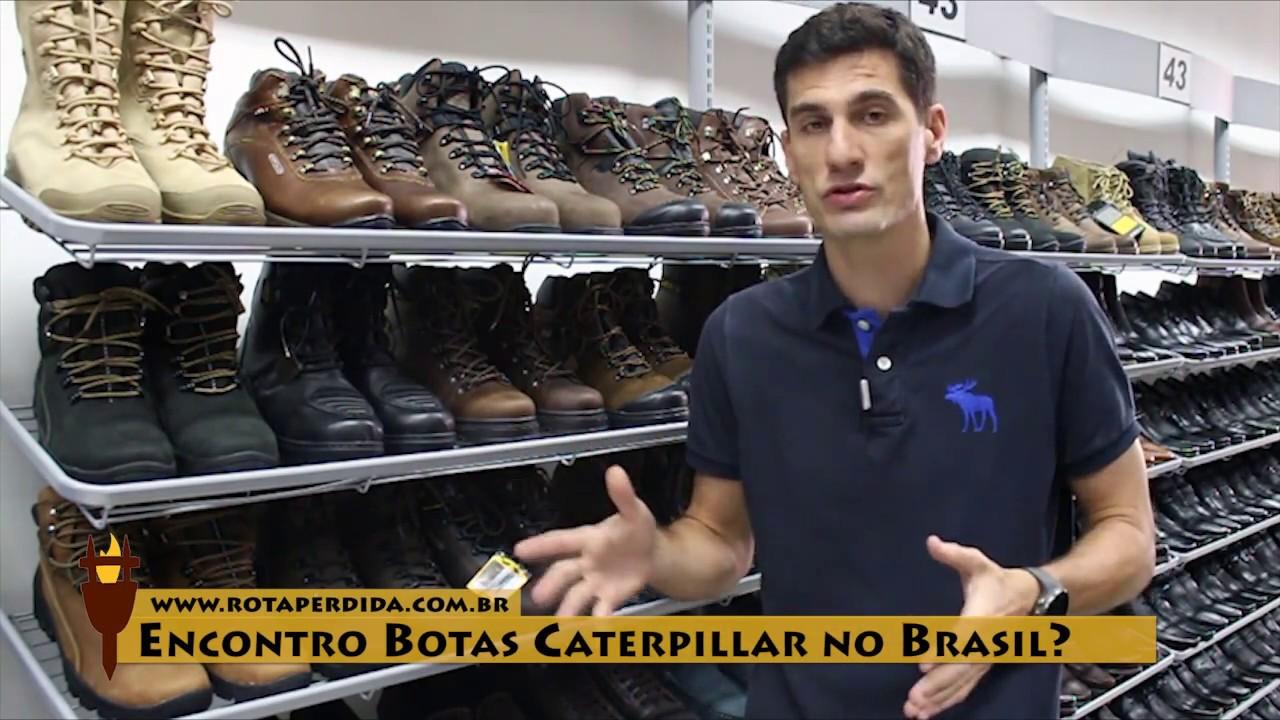 21e9242c04 Encontro Botas Caterpillar no Brasil  - Rota Extrema Responde - YouTube