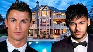 The Most Beautiful and Expensive Houses of Famous Soccer Players 2018