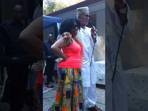 Dr. Oba T'Shaka: On the Love of His Life Pamela T'Shaka!