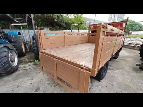 USED TRUCK FUSO CANTER FB300AACDGI 1995 CARGO AM (Wooden Based)
