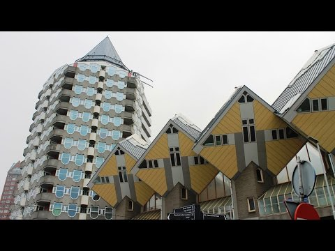 Unusual hotels of the world: Stayokay Rotterdam in CUBE HOUSES, Rotterdam, Netherlands