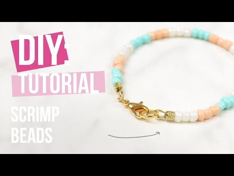 Schmuck machen: Beadalon Scrimps ♡ DIY