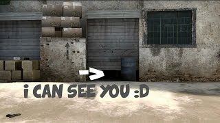 CS:GO - Garage of Secrets [Dust 2 Spawn bug]