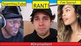 David Dobrik ( RANT ) #DramaAlert  ( KSI Team YouTube ) Valkyrae