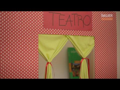 C mo hacer un teatro infantil imujerhogar youtube - Hacer cabecero infantil ...