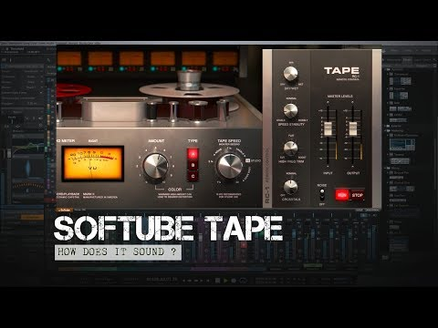 Softube Tape | How Does It Sound ?