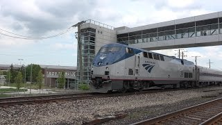 Troy Transit Center. Amtrak and Station Tour. 4K