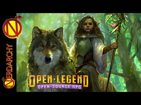 Open Legend the Open Source RPG Review and Discussion with Brian Feister