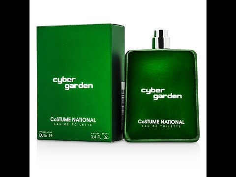CoSTUME NATIONAL Cyber Garden Fragrance Review (2013)