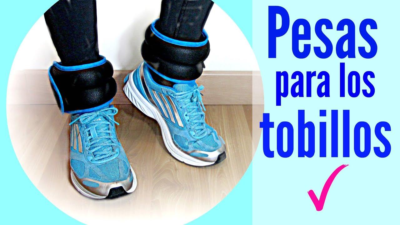 Diy pesas para los tobillos gustamont n how to make for Hacer ejercicio