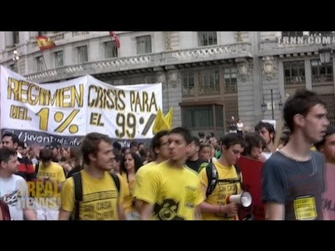 Massive Protests Fill the Streets of Madrid