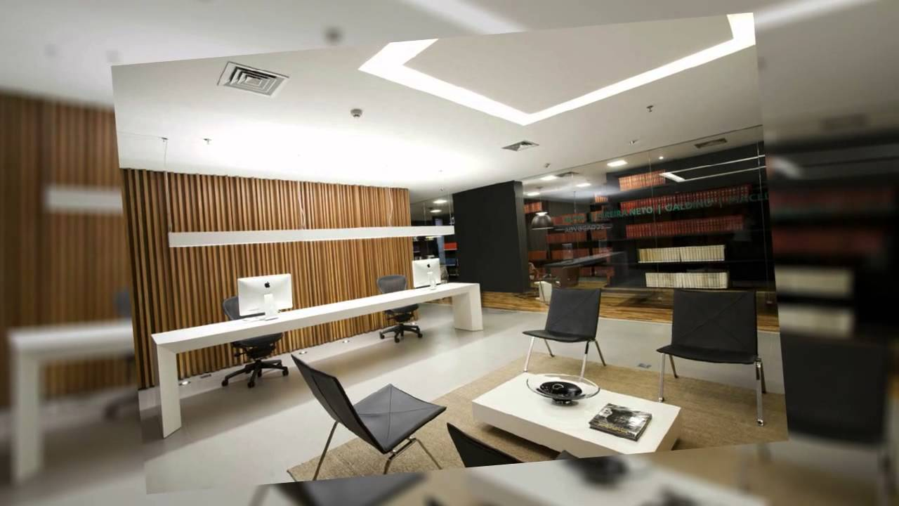 Dise o de interiores despachos oficinas youtube - Decoracion de oficinas ...