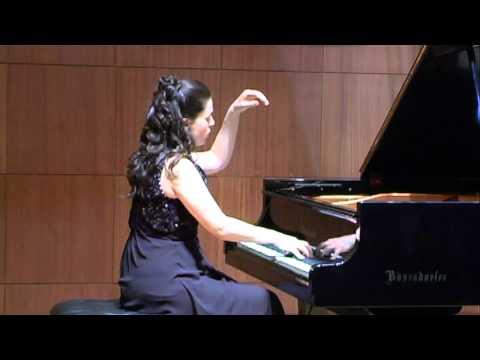 Chopin - Etude Opus 25 , No. 7 - Irina Bogdanova