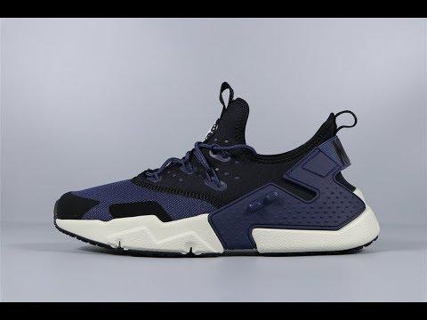 002a4021d58a Nike Air Huarache Drift Thunder Blue AH7334-401 Men Sport Shoes FROM Robert
