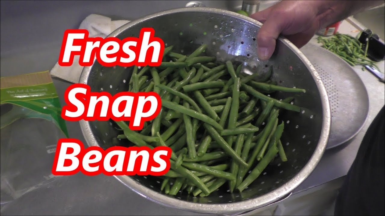 how to cook snap beans southern style