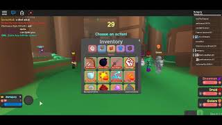 ROBLOX Adventure Story - Abrir Inv en Battle Bug