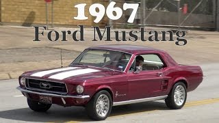 1967 Ford Mustang 289 American Classic Car test drive