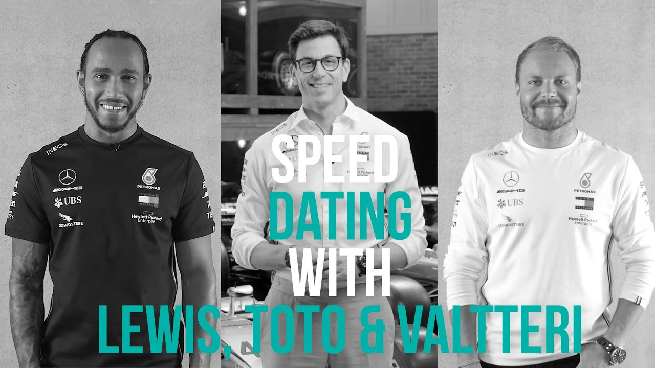 Speed Dating with Toto, Lewis, and Valtteri – Part 2! 👏