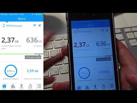 Учёт трафика на iPhone  My Data Manager #1V1A