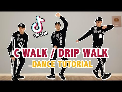 C-Walk (Drip Walking) | Easy Tik Tok Dance Tutorial