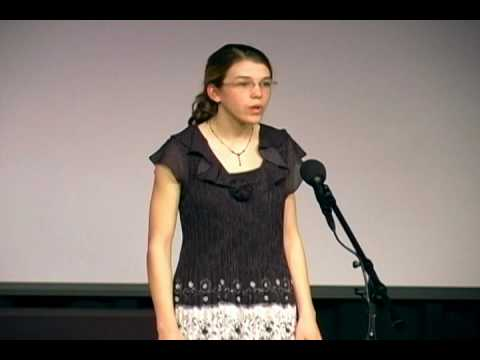 "NC Poetry Out Loud 2010 - ""On Virtue"" by Phillis Wheatley"