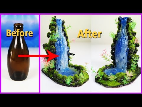 How to Make Hot Glue Waterfall at Home