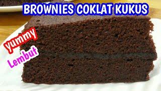 Resep Brownies Coklat Nikmat dan Mudah (4 telur)