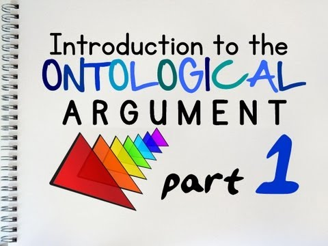 The Ontological Argument (1 of 2) | by MrMcMillanREvis