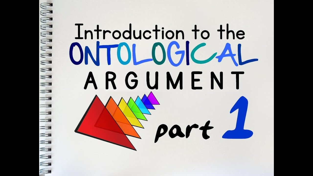 the ontological argument of by mrmcmillanrevis