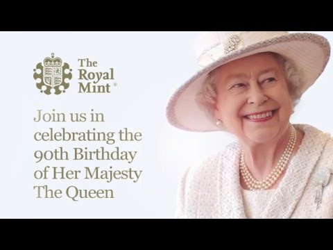 Royal Mint - Queen's 90th Birthday Fine Silver Coin
