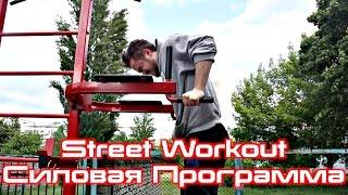 видео street workout упражнения для начинающих