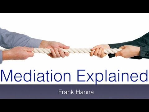 Mediation explained