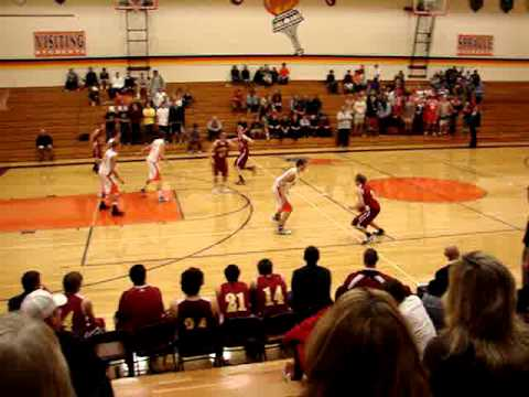 Zach makes shot with 12 secs left at Sprague Dec 7