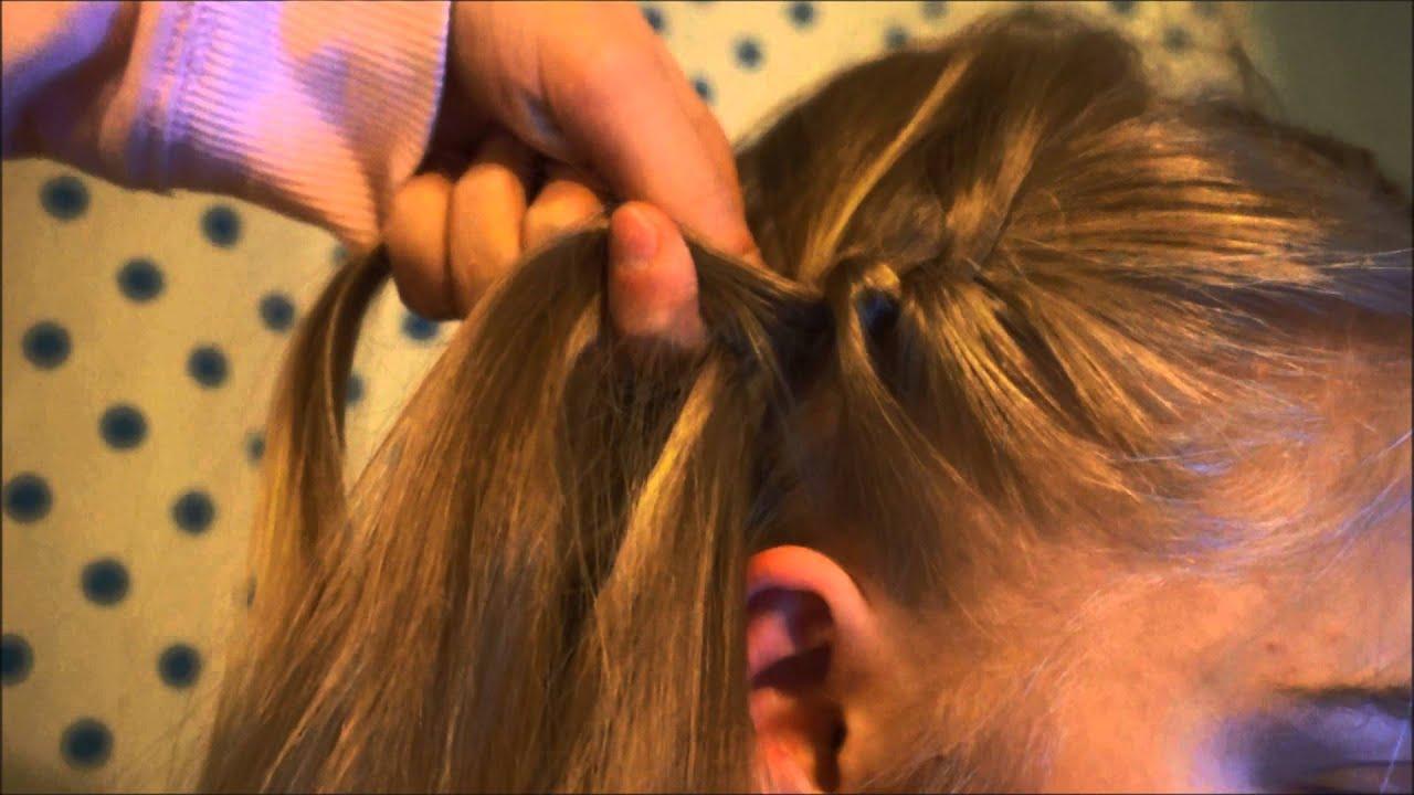 Elegancka Fryzura Francuz Od Boku Hairstyle Youtube