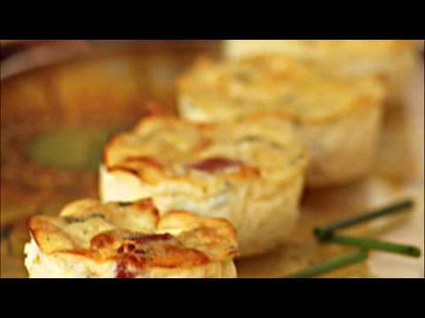 recette-:-mini-quiches-sans-pâte-aux-lardons-et-courgette