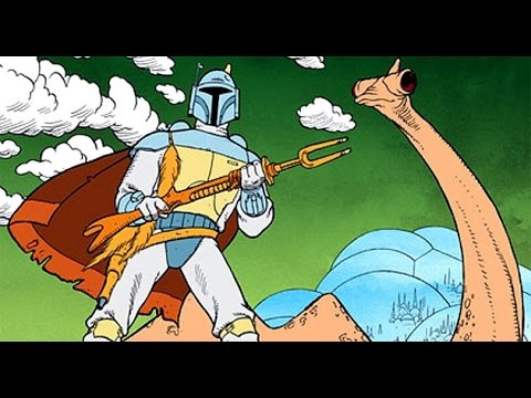 Boba Fett cartoon - (The Star Wars Holiday Special, 1978) - Blu-Ray 1080p