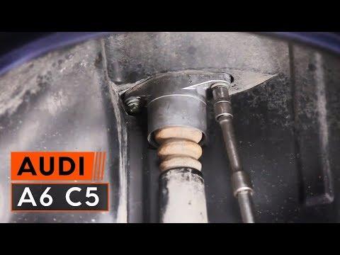 Wie AUDI A6 C5 Domlager wechseln TUTORIAL   AUTODOC