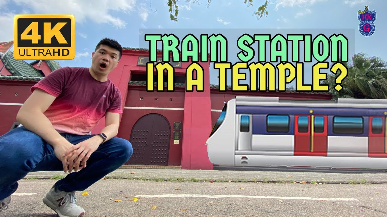 Che Kung Temple Station, is it a temple or a train station?