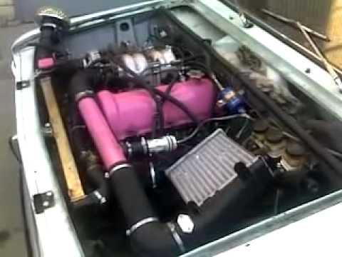 Первый запуск заз 968м с двигателем ваз 2101 - YouTube